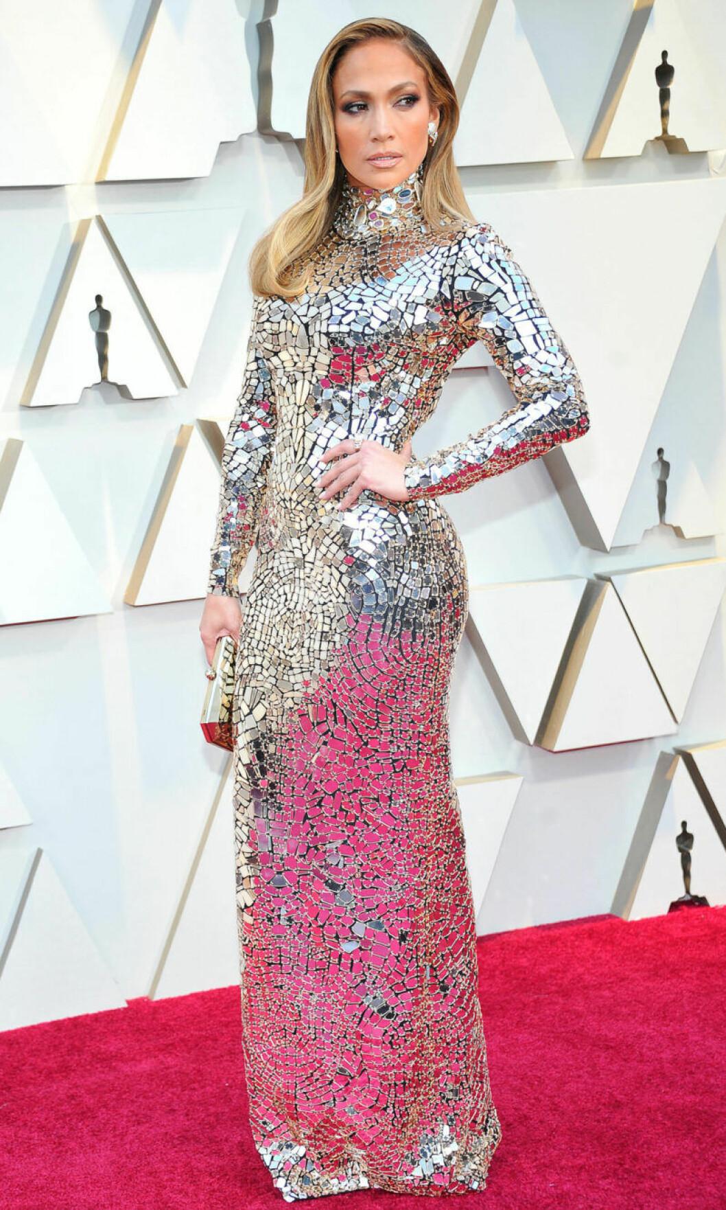 Jennifer Lopez på Oscarsgalan 2019