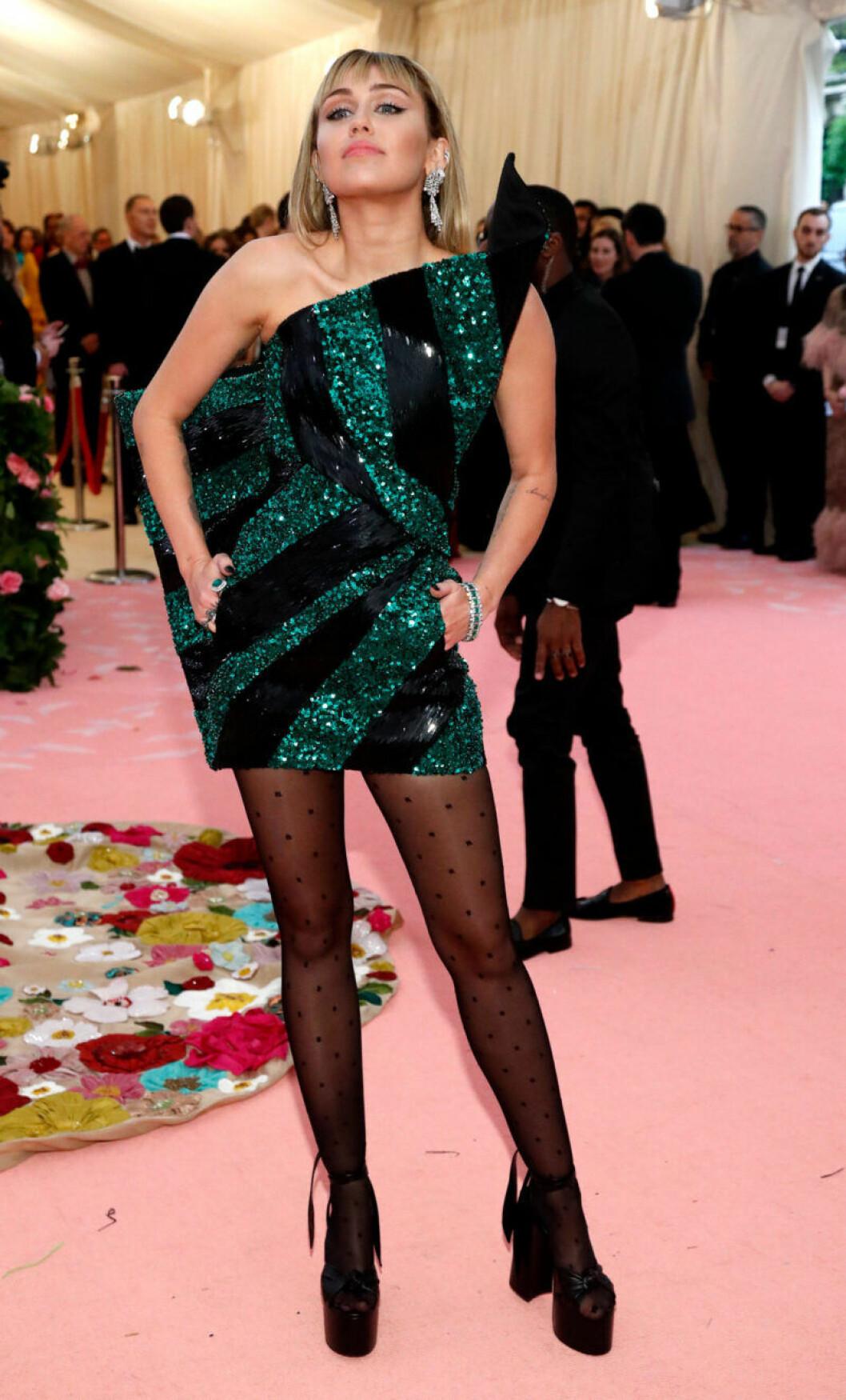 Miley Cyrus på röda mattan
