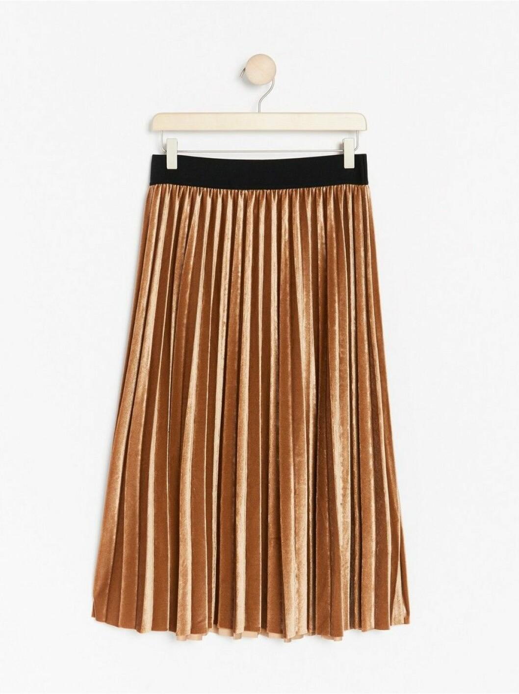 plisserad kjol lindex