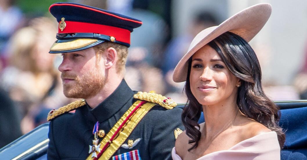 Meghan Markle får inte bo i England med kungafamiljen.
