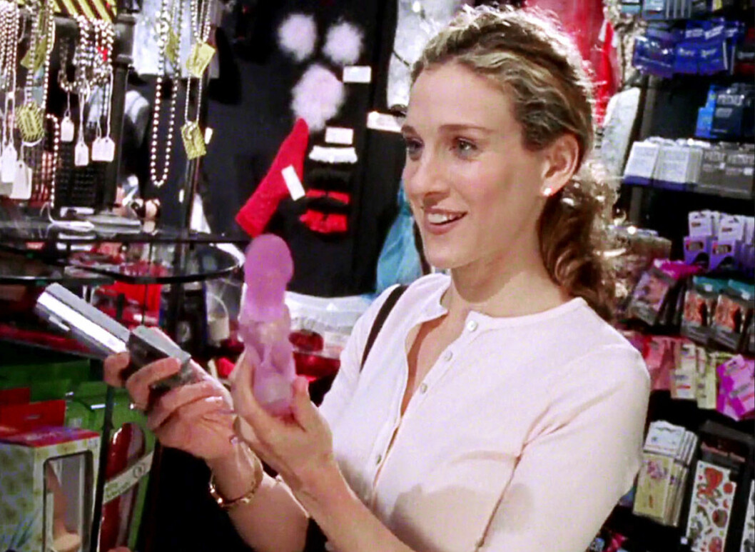 Carrie i Sex and The city köper sexleksak