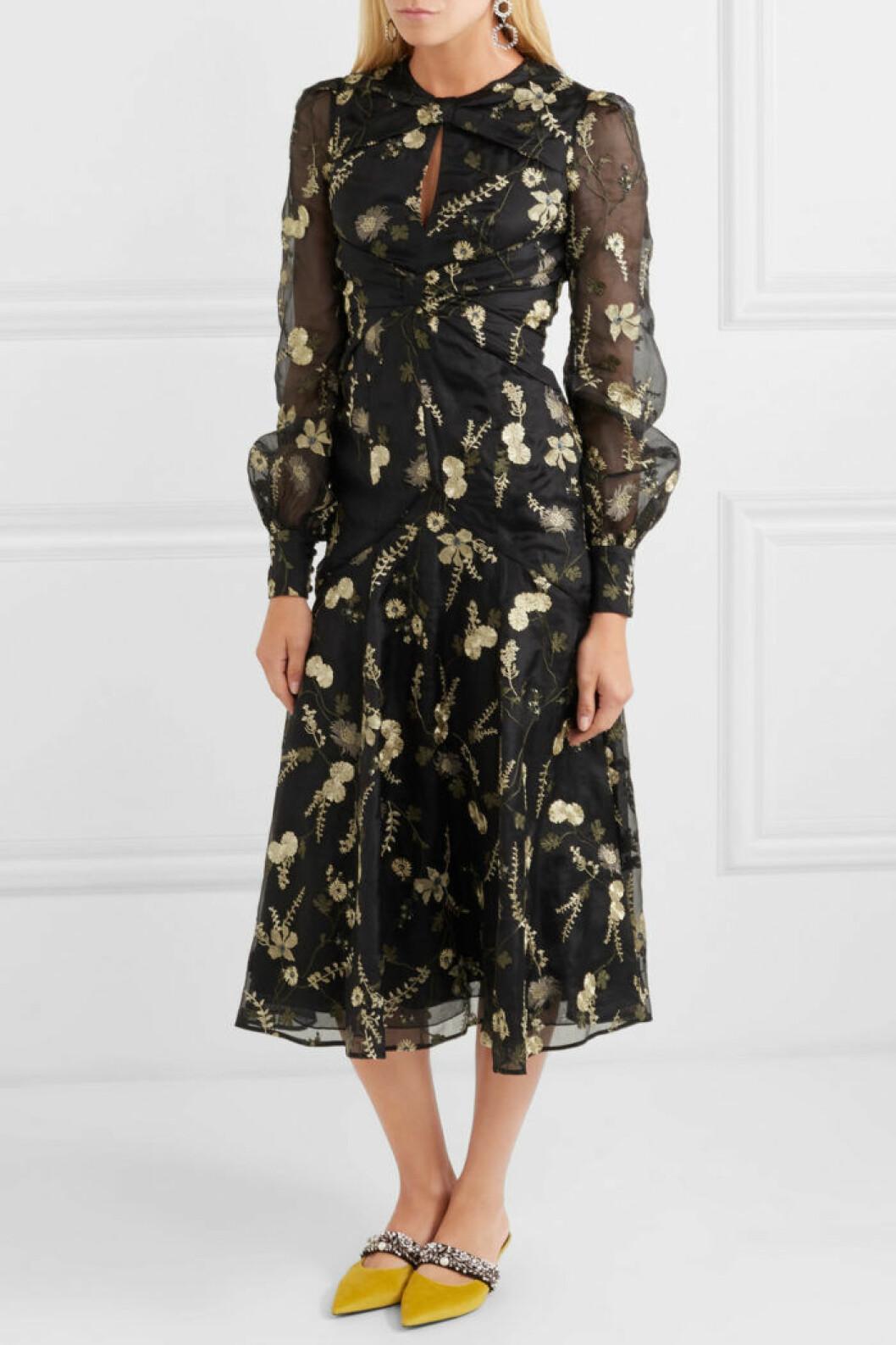 snygg klänning erdem