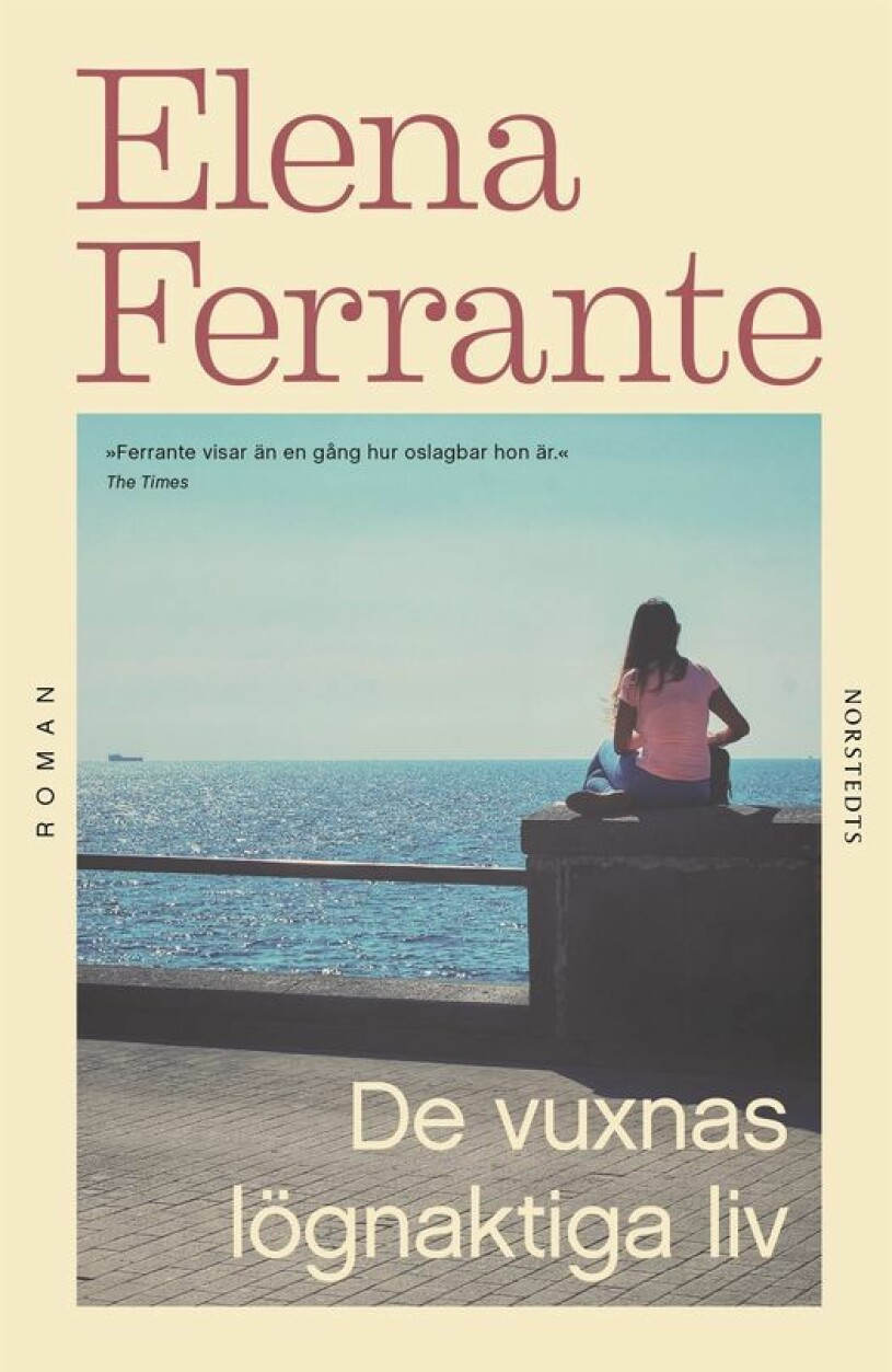 Bokomslag Elena Ferrante De vuxnas lögnaktiga liv