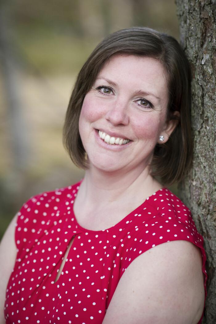 Anneli Olsson är nu aktuell med boken Fritt Fall