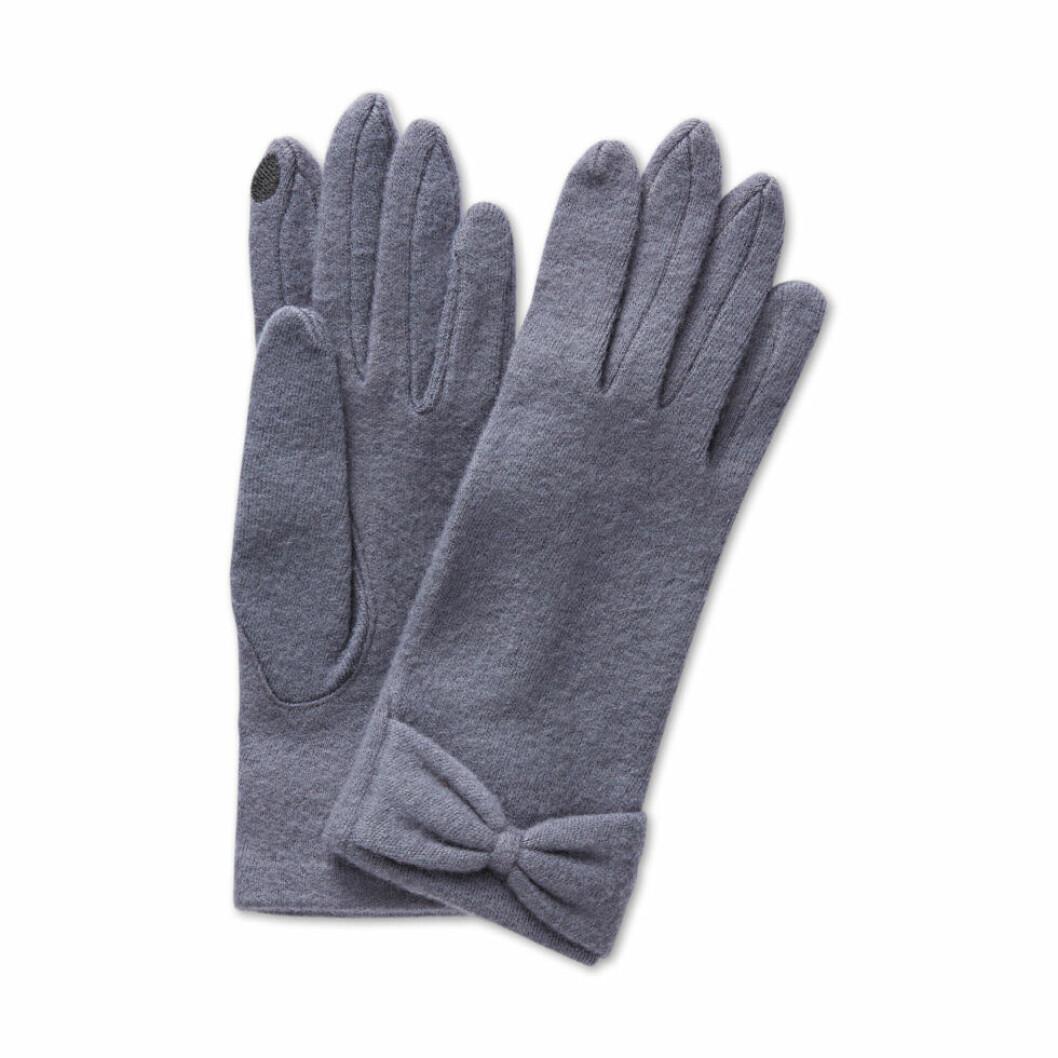åhlens handskar stickade