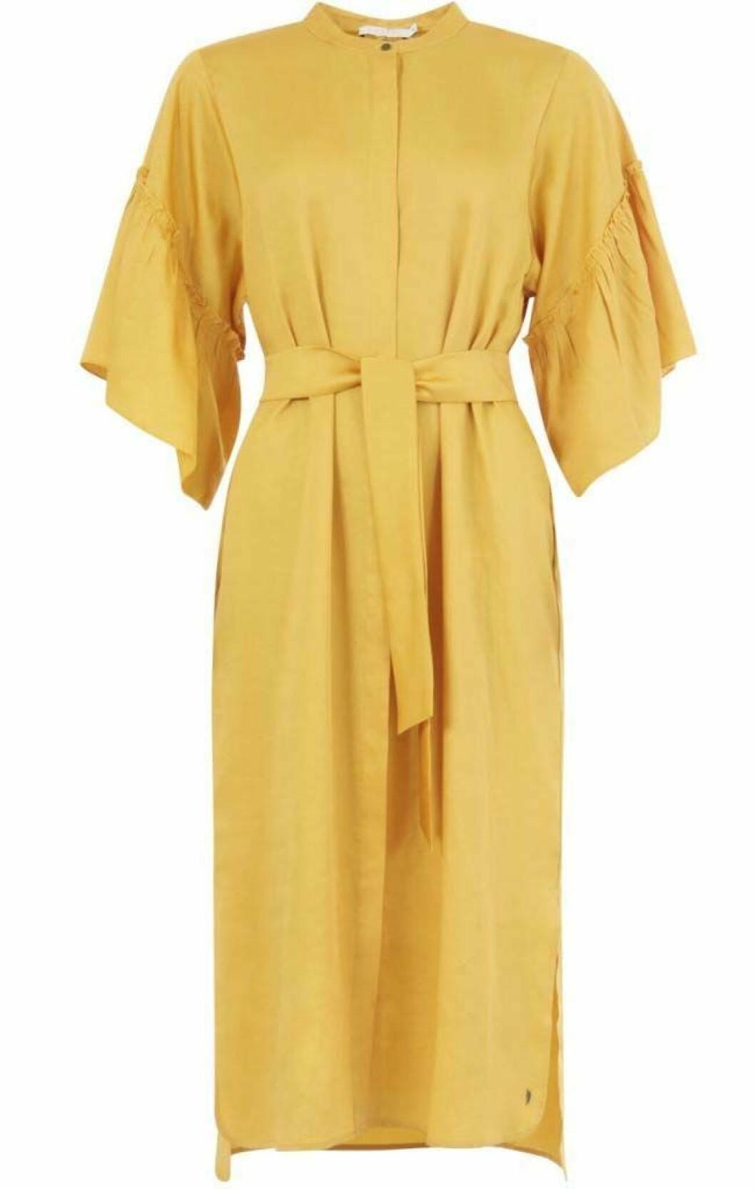 klänning-gul-coster-copenhagen