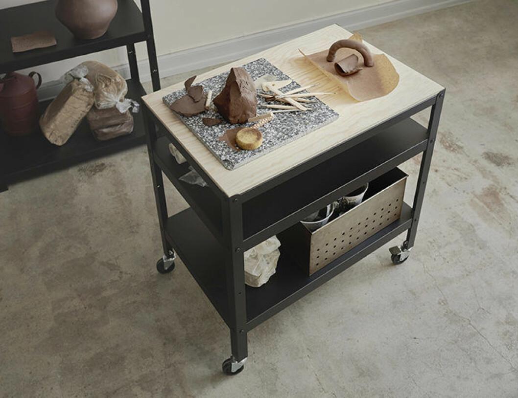 Rullbord/Vagn Bror från Ikea går att använda i de flesta rum