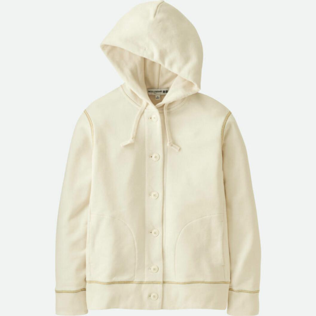 Huvjacka eller tröja i sweatshirtmaterial.
