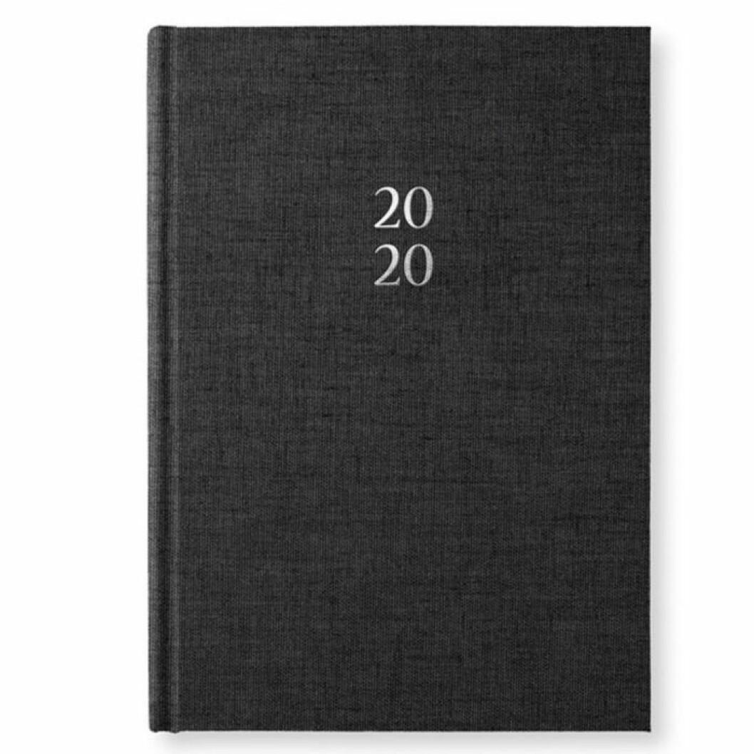 Svart kalender för 2020