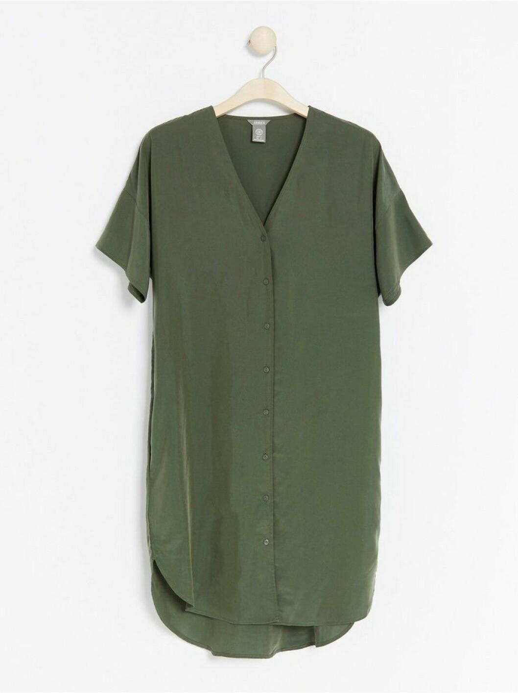 kortärmad klänning lindex