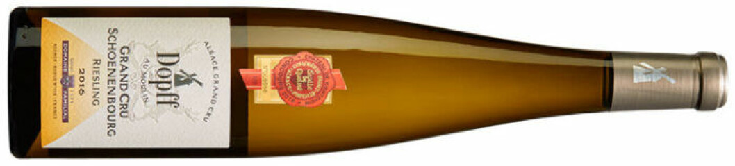 Dopff Schoenenborg Grand Cru (nr 6484), Frankrike: Alsace, 199 kr.