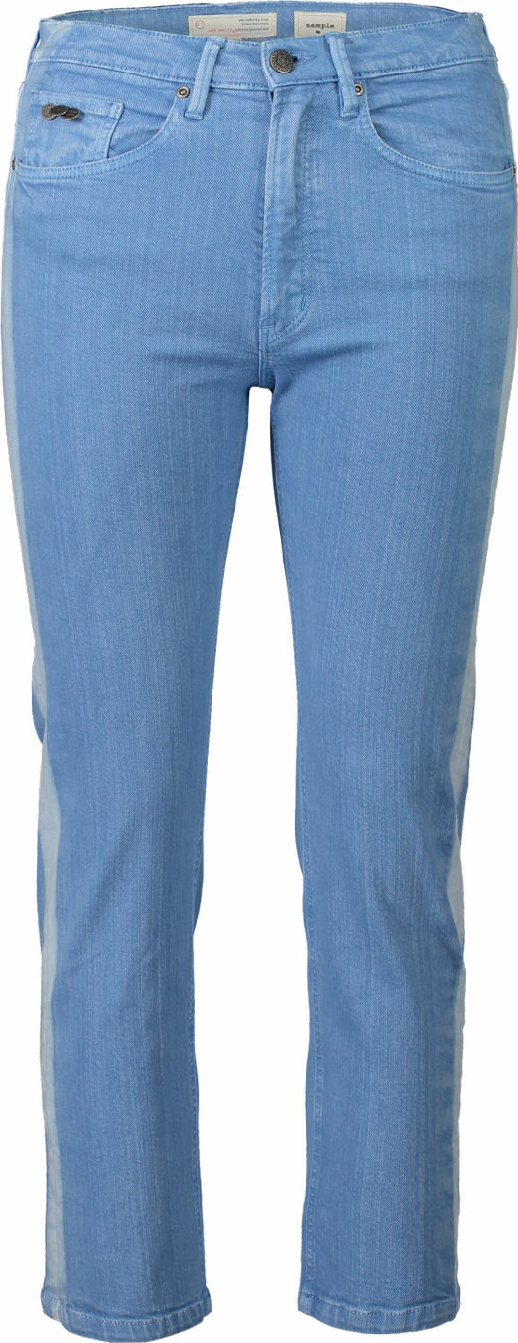 Ljusblå byxor