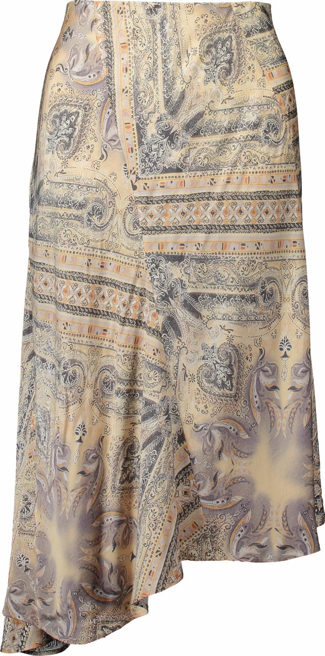 Paisleymönstrad kjol