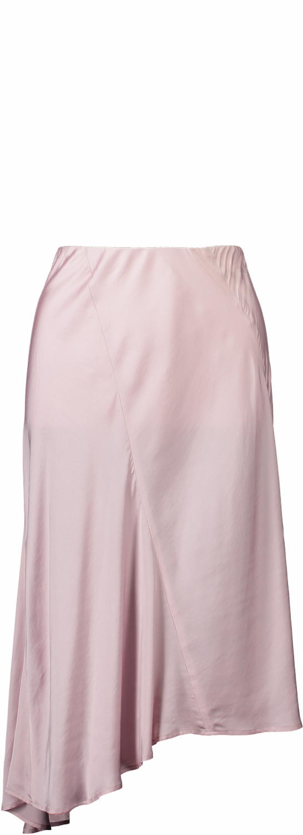 Rosa kjol i sidentyg