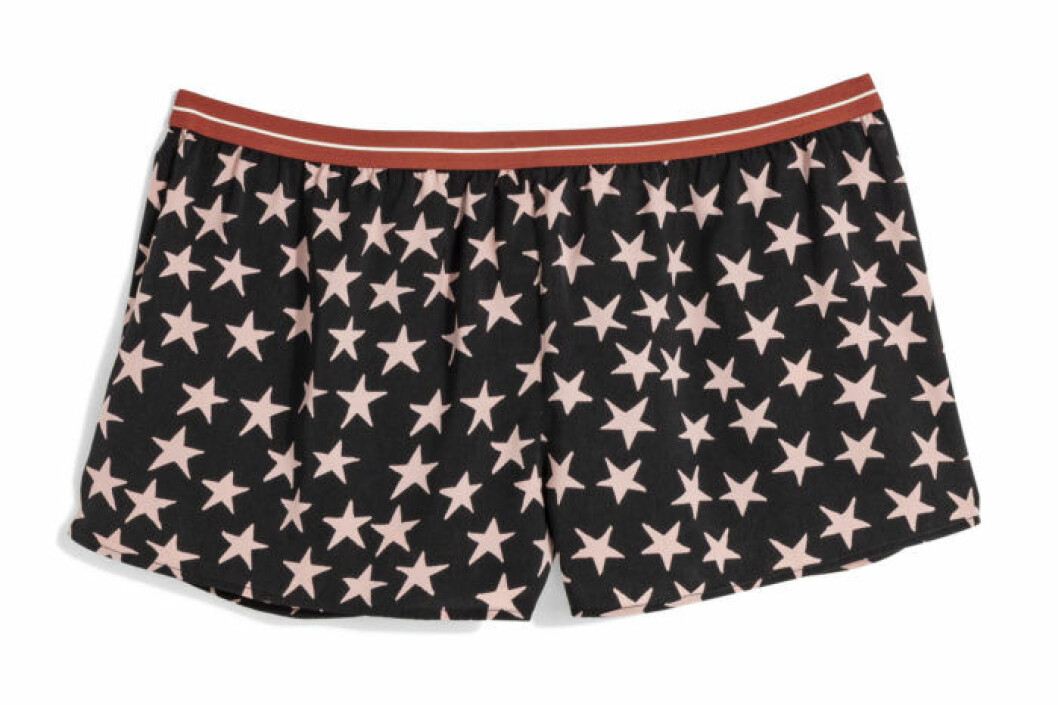 H&M x Love Stories boxertrosa med stjärnor