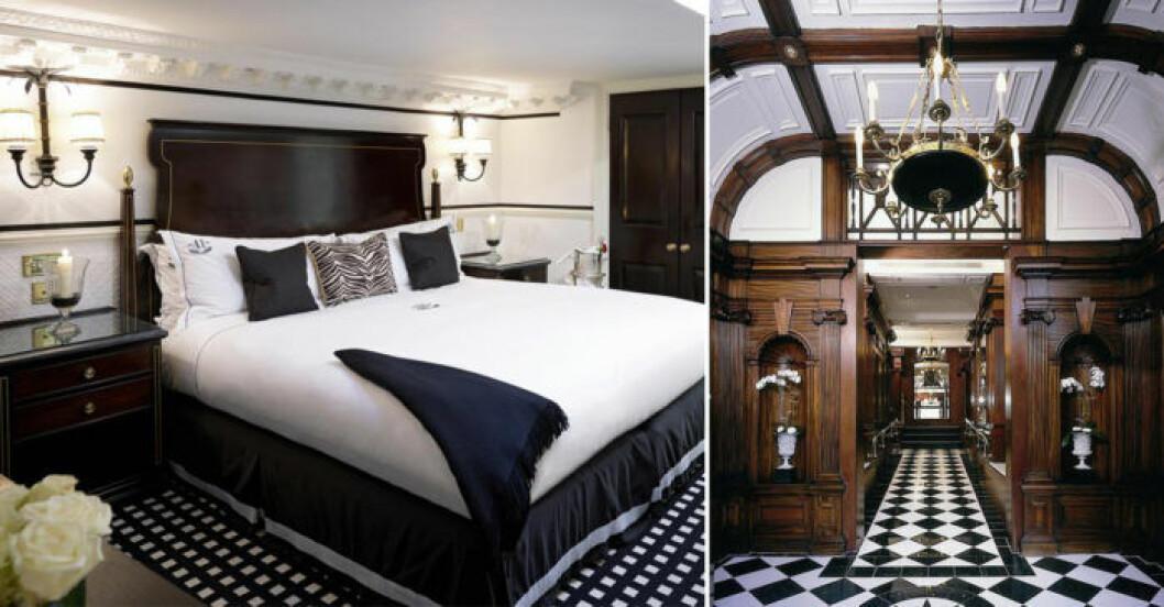 Romantiskt hotell i London med närhet till Buckingham Palace