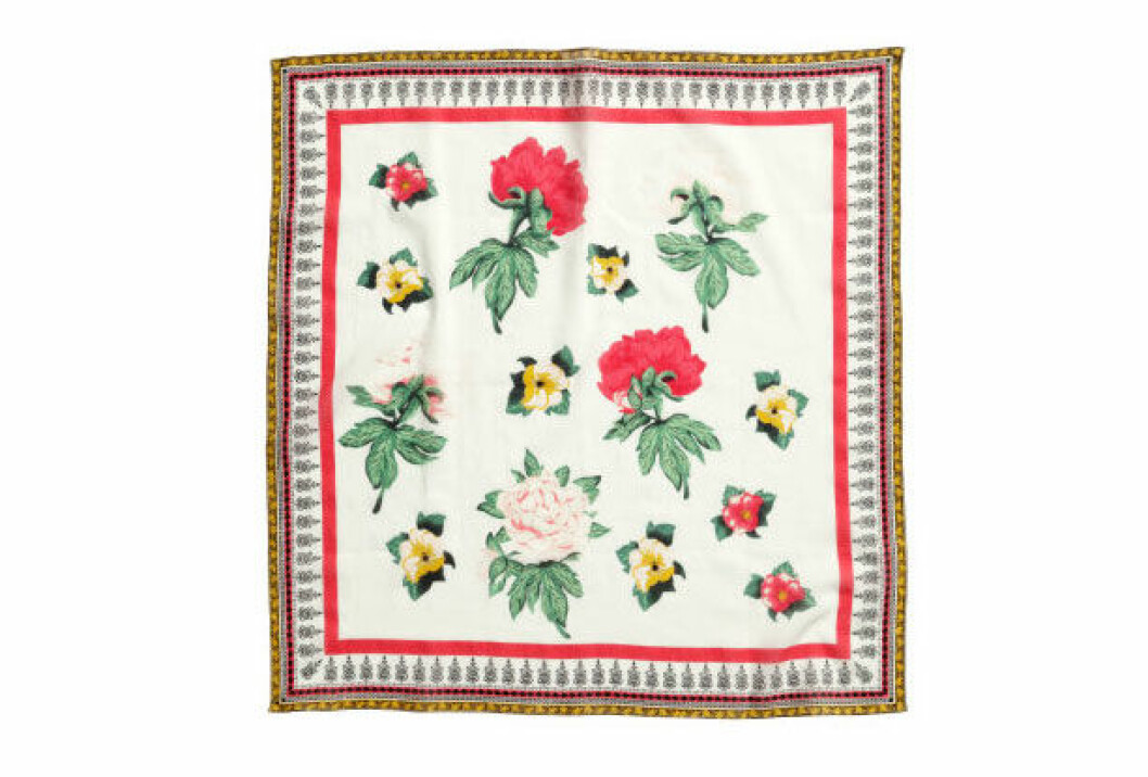 Bomullsscarf, 70x70 cm, 49,50 kr, H&M Loves Coachella.