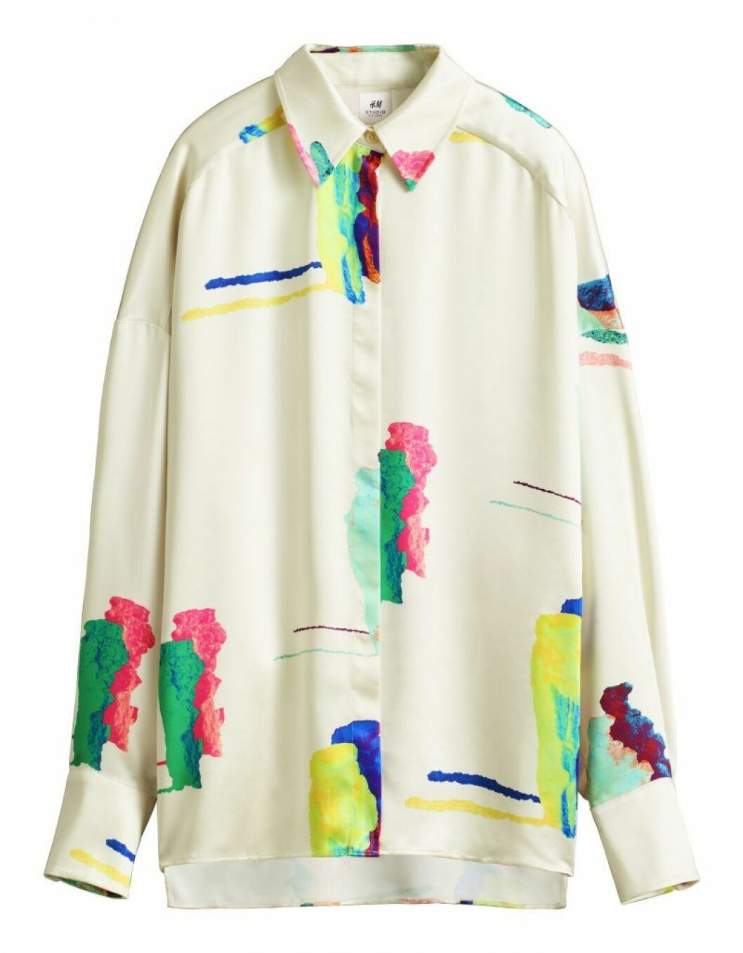 Skjorta med print H&M Studio SS20