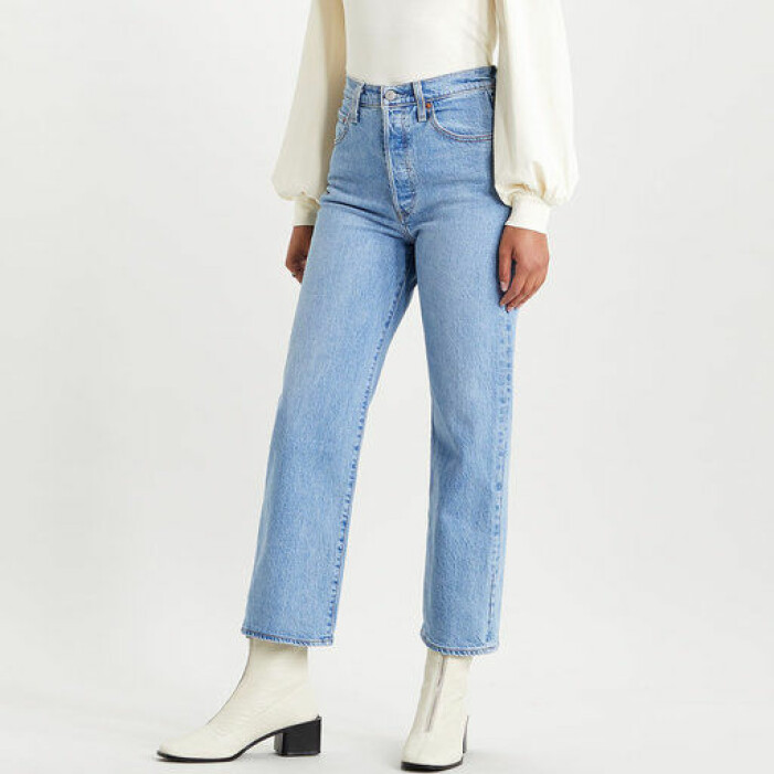 ljusa jeans från Levis