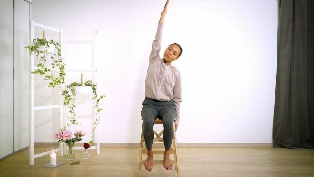 Yoga med Johanna –ryggtilt