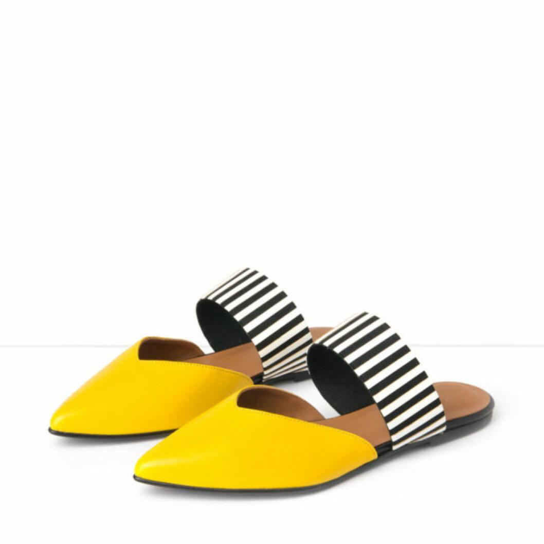 Gula sandaler från Flattered