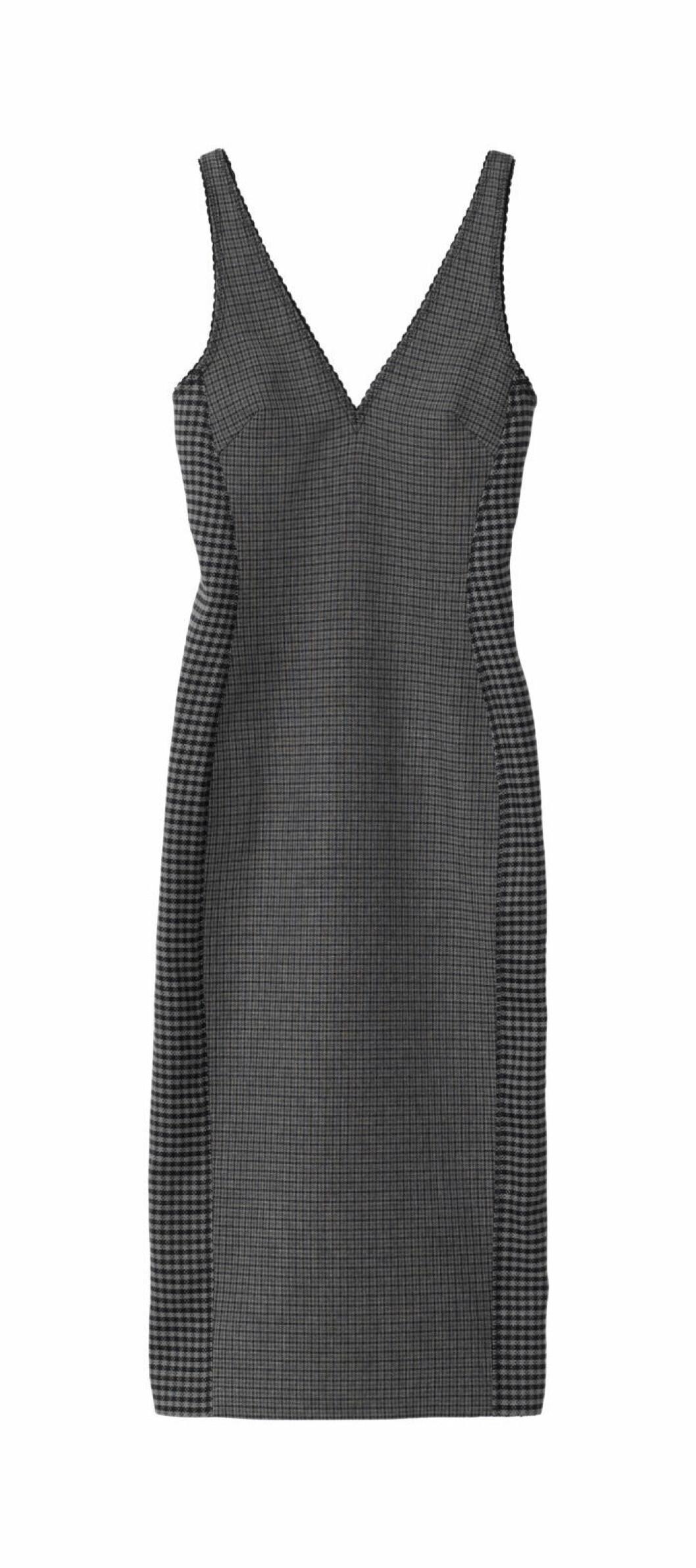 Rutig klänning H&M Studio AW18