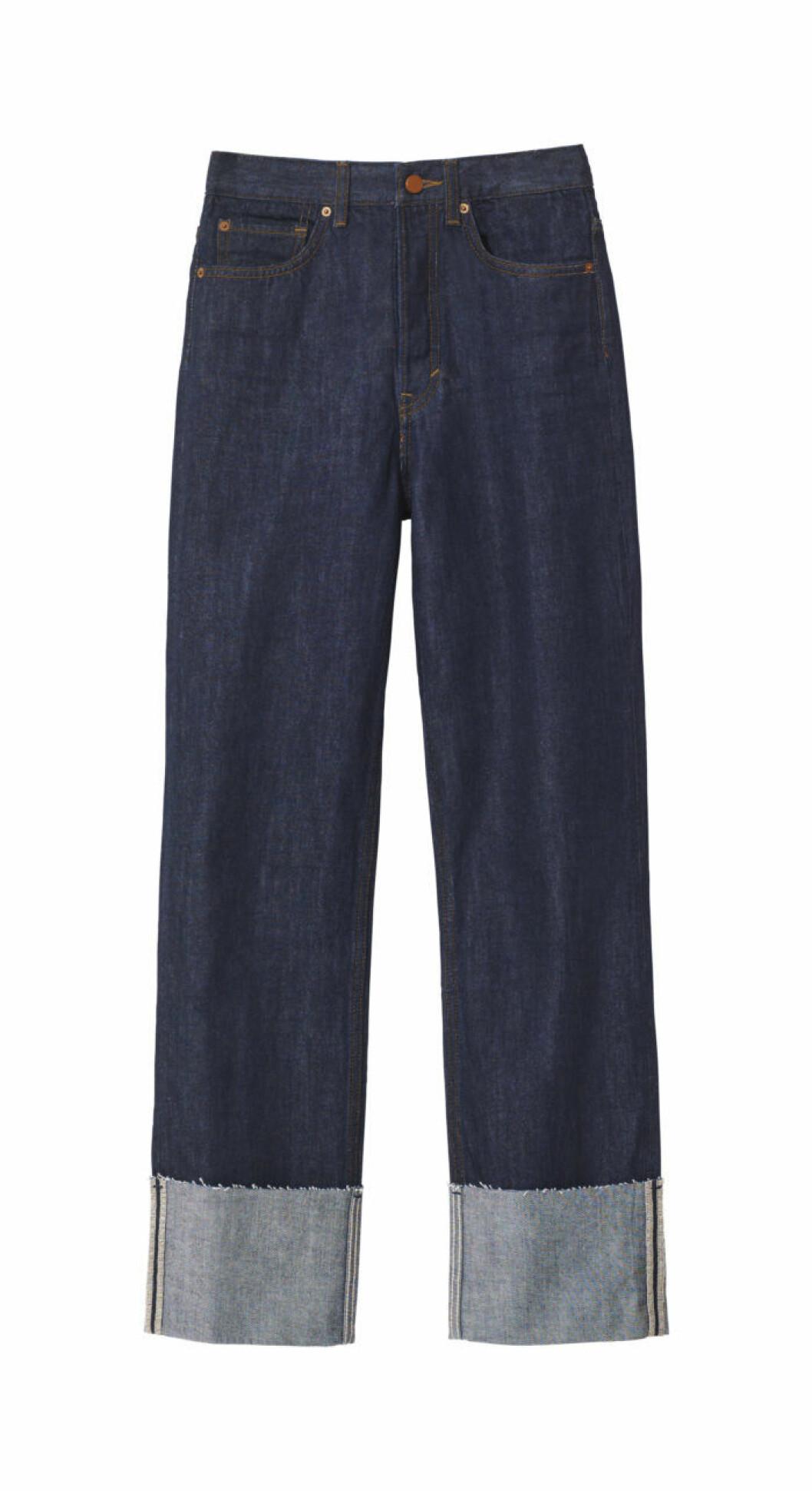 Mörkblå jeans H&M studio AW 2018