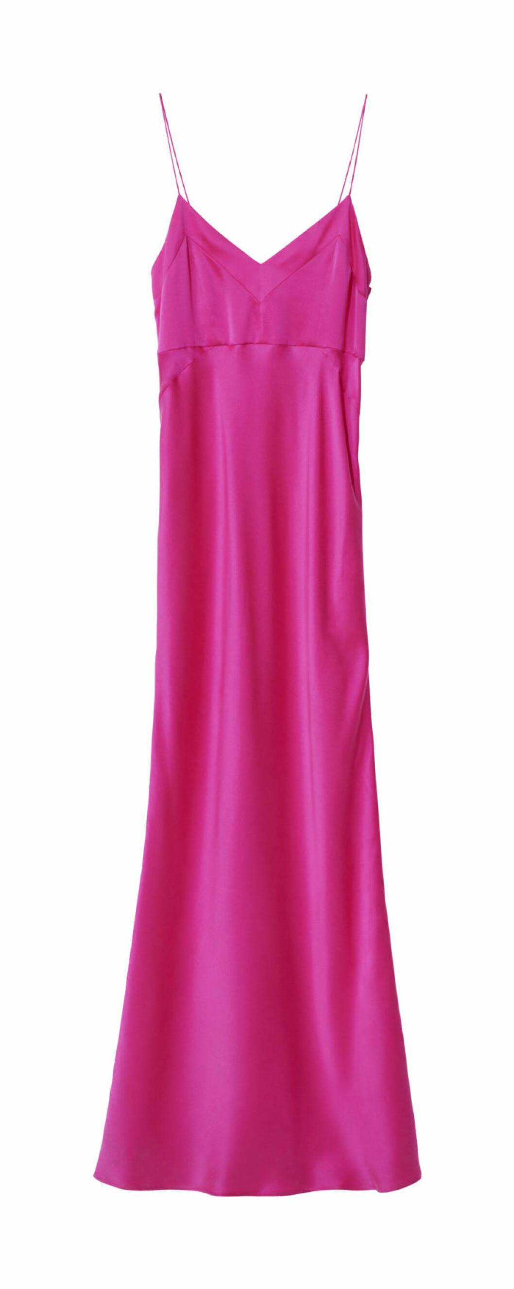 Rosa klänning h&m studio aw18