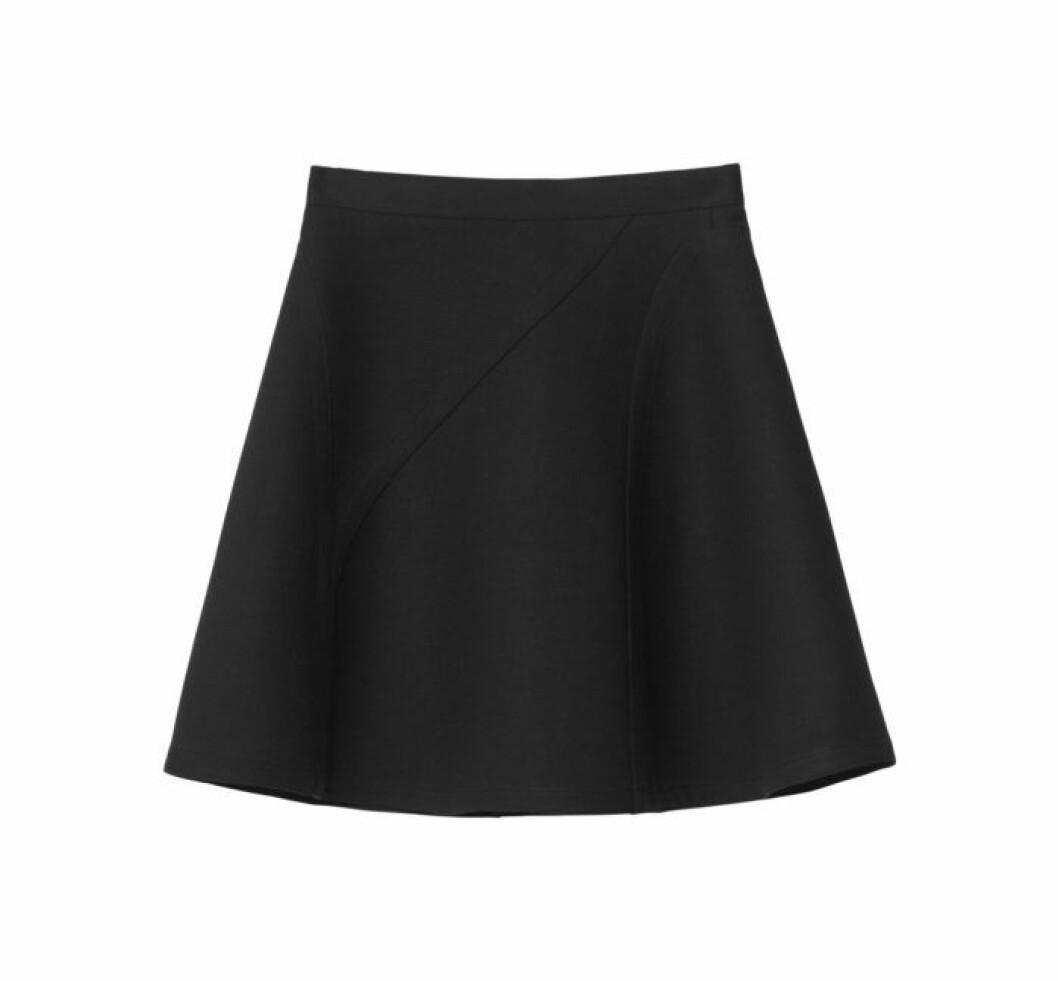 svart kjol h&m studio aw18
