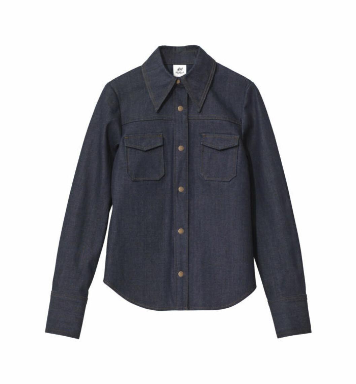 blå jeansskjorta h&m studio aw18