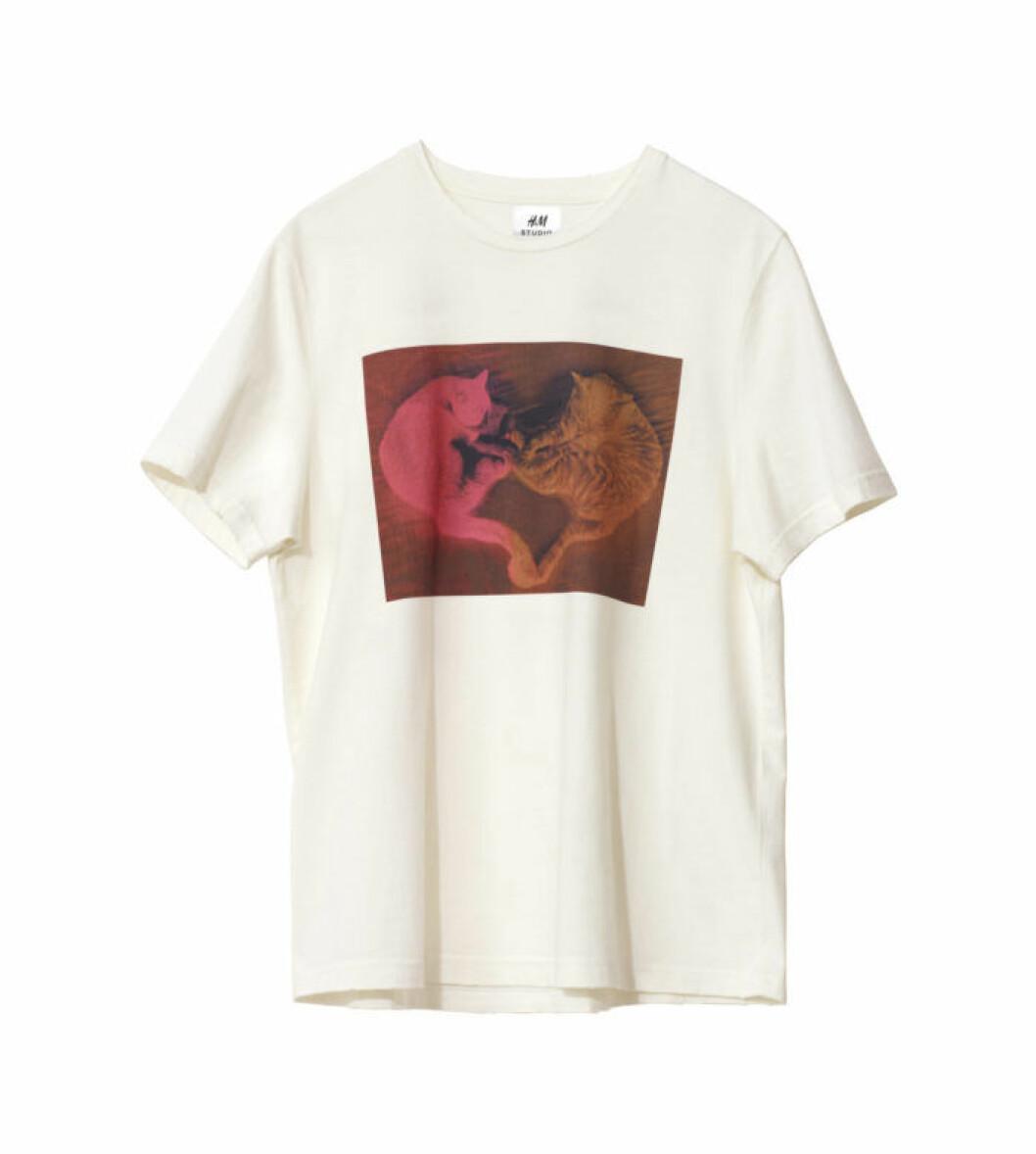 katt-tshirt h&m studio aw18