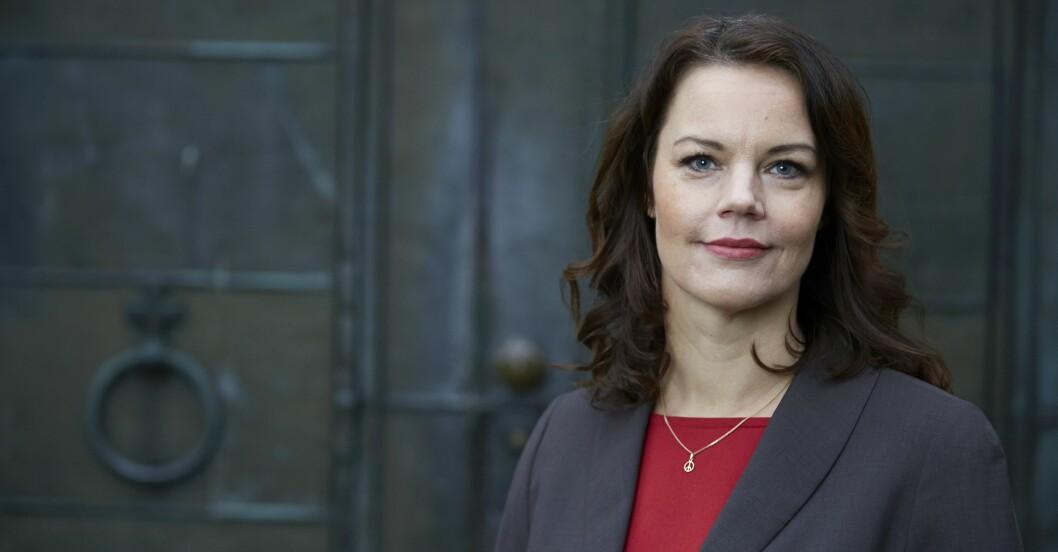 Författaren och politikern Veronica Palm.