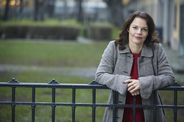 Författaren och tidigare riksdagspolitikern Veronica Palm.