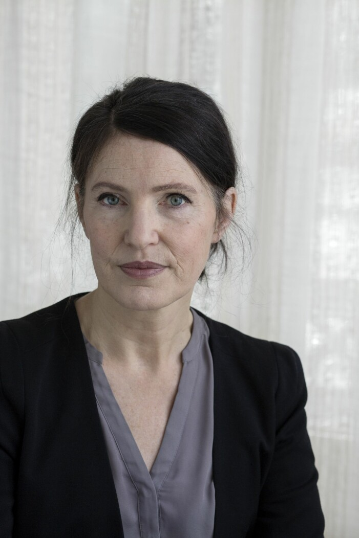 Författaren Kristina Sandberg är aktuell med nya boken En ensam plats, där hon beskriver sin cancerdiagnos.