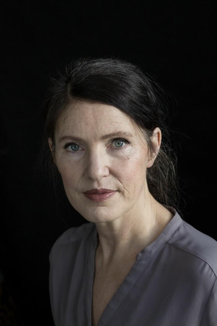 Kristina Sandberg har skrivit boken En ensam plats.