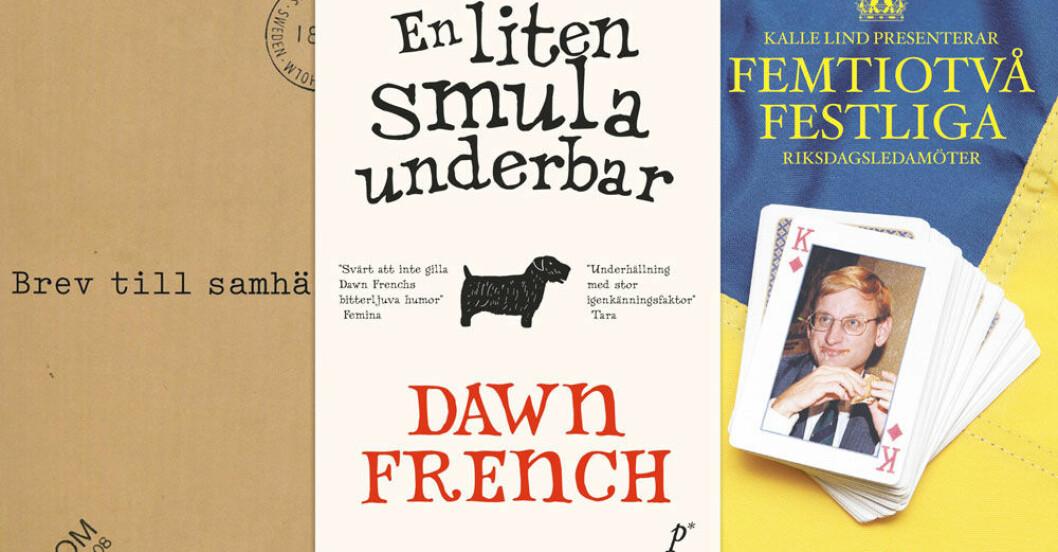 Böcker som får dig att skratta