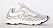 Sneaker i off-white med tranpsarenta partier. Sneakers från Acne.
