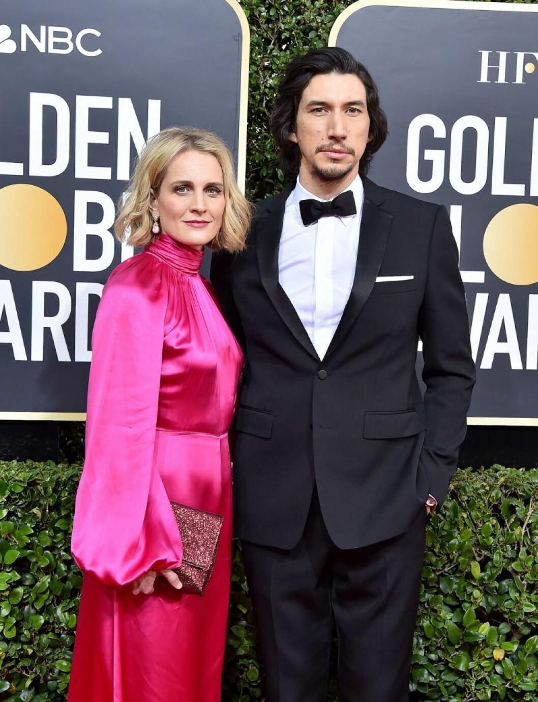 Adam Driver och Joanne Tucker har fått barn i hemlighet