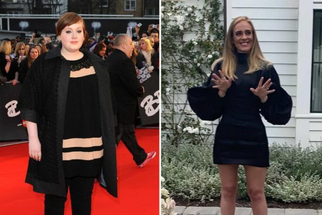 Adele viktnedgång