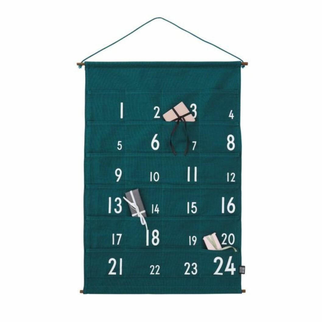 Adventskalender hänga på väggen