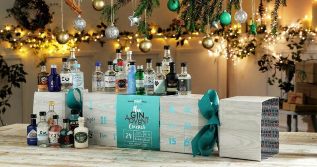 Adventskalender med gin & tonic.
