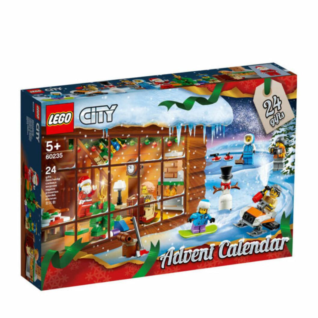 Adventskalender 2019 med lego