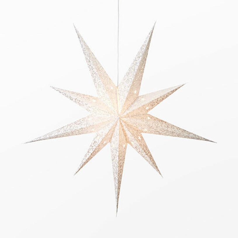 Adventsstjärna från Åhléns