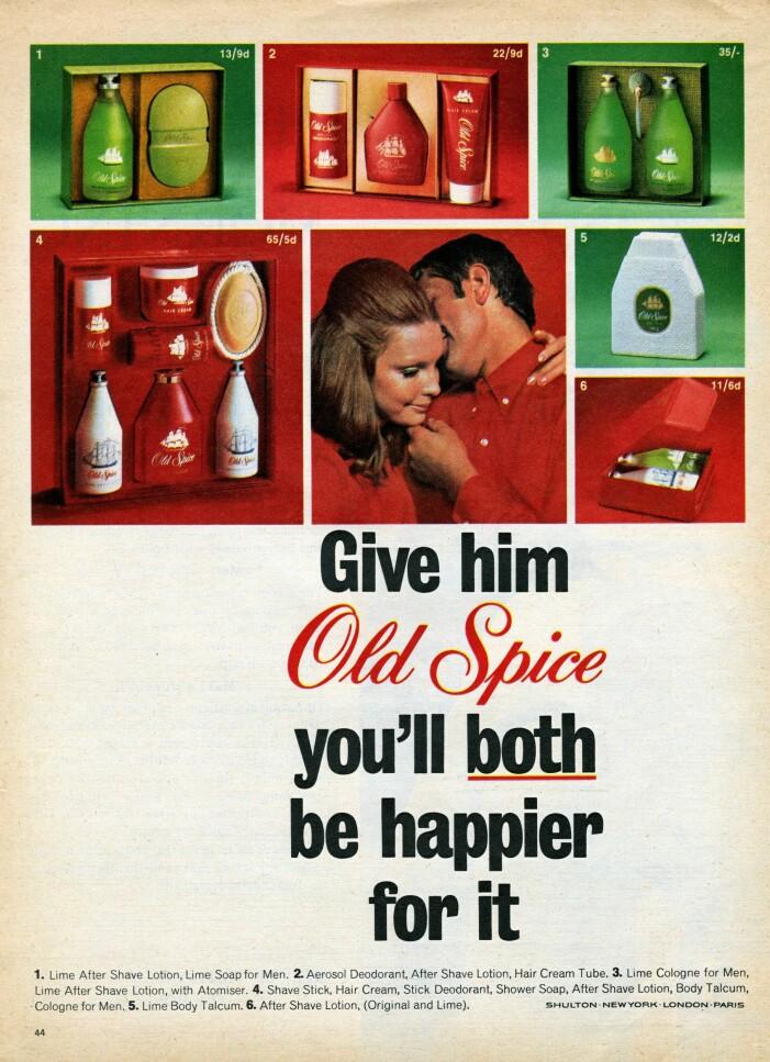 gammal reklam för after shave