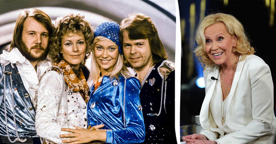 Agnetha Fältskog och ABBA