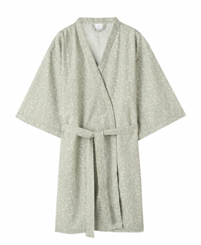 blommig styv kimono från Åhlens