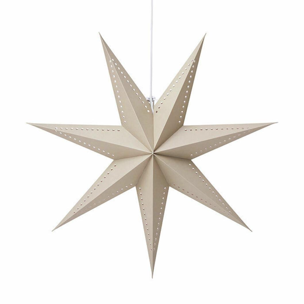 julstjärna från åhléns