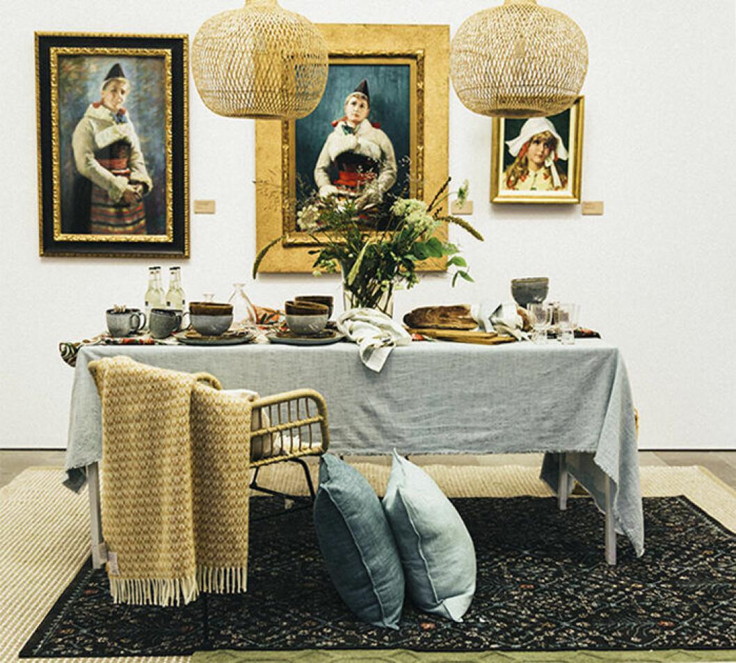 Åhléns vårkollektion visades på Sven Harrys konstmuseum i Stockholm