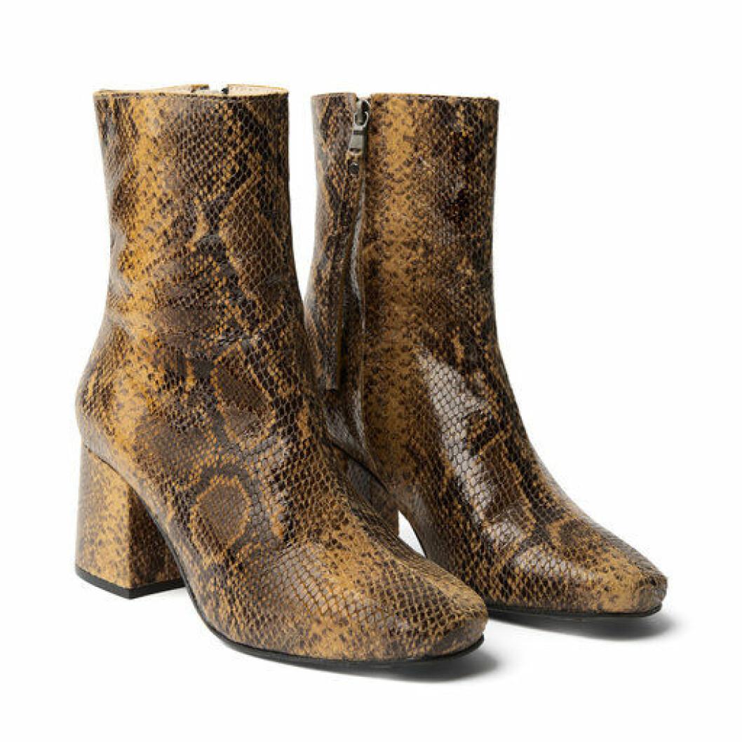 Åhlens x minimarket snake boots