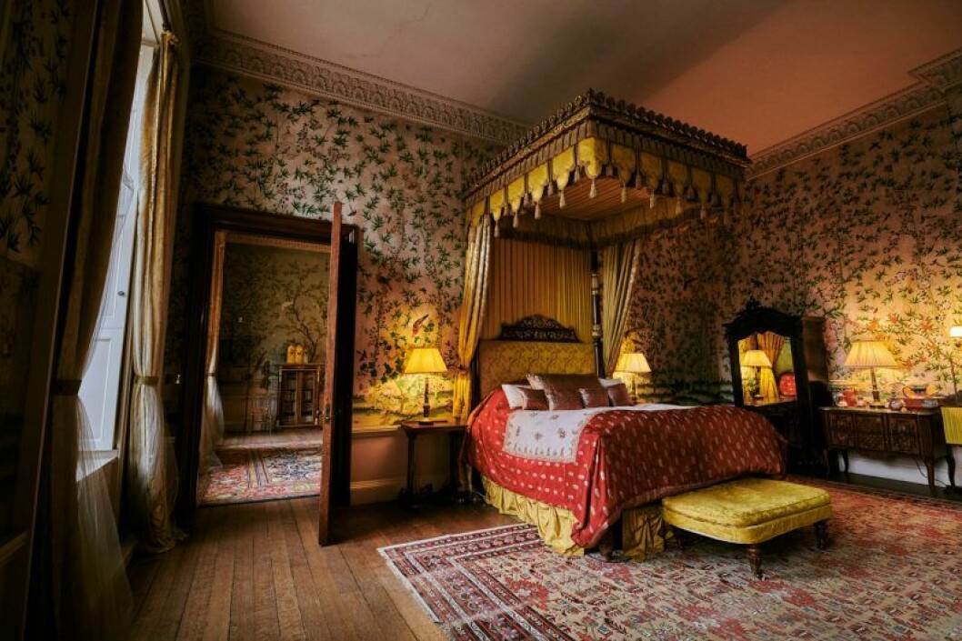 Sovrummet i Belvoir Castle